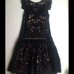 Marc by Marc Jacobs Dresses & Skirts - Marc by Marc Jacobs Black Lace Overlay Dress