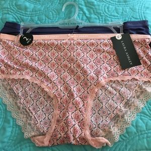 Laura Ashley Other - NWT Laura Ashley 2 pack lace trim panties