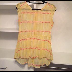 Maison Jules Tops - Beautiful Yellow Summer Too