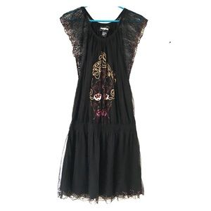 Desigual Dresses & Skirts - Desigual black drop waist dress