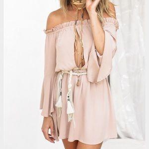 Sabo Skirt Dresses & Skirts - Off the shoulder Dress
