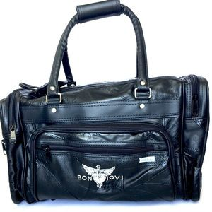 Bon Jovi Other - New Bon Jovi Genuine Leather THINFS Weekender Bag