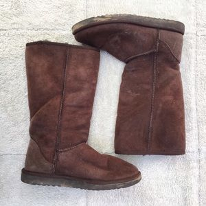 UGG Shoes - Classic Shearling-Lined Tall Boot