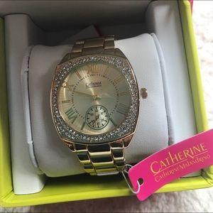 Catherine Malandrino Accessories - Catherine Malandrino Gold Watch