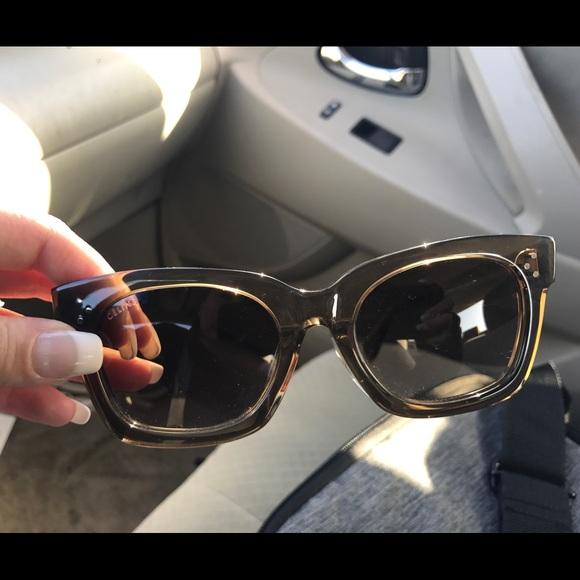 Celine Accessories - Celine sunglasses! Beige in almost new condition!