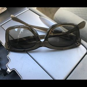 Celine Accessories - Celine sunglasses! Beige in almost new condition!
