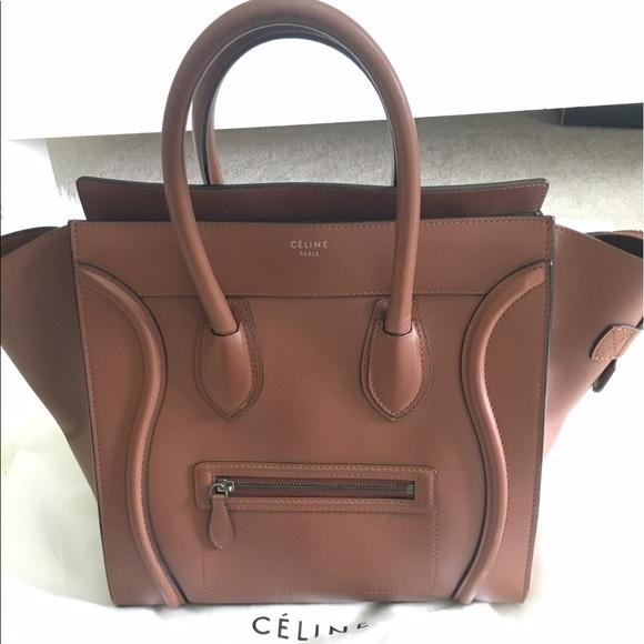 AUTHENTIC Celine Camel Mini Luggage. Listing Price   1500 a05192f76c