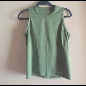 Patagonia Tops - Patagonia sage green tank women's medium