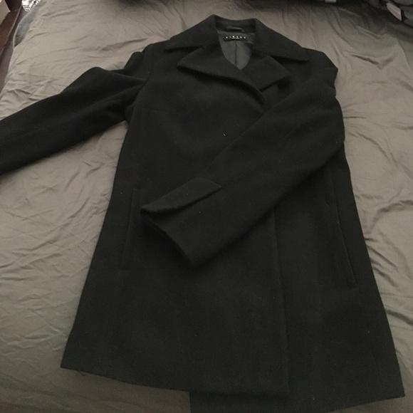 Italian Sisley wool coat Xs small. M 58dd40185a49d0d3a703794b 17648afcc