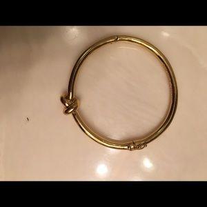 Kate Spade gold knot bracelet