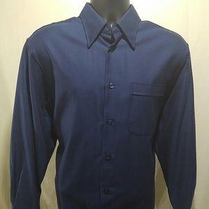 John W. Nordstrom Other - JOHN W NORDSTROM Blue Shirt Size M