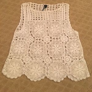 🌟TopShop crochet top🌟