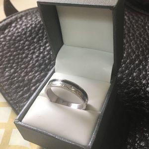 Take 50% off!!🌺 Men's Sterling Etch Ring