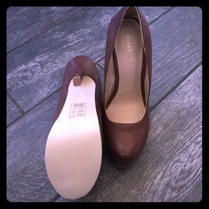 ⏬ NWOT - Shoe Dazzle 8.5 Brown heels