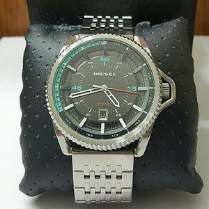 diesel Other - NWT Diesel stainless steel men's watch