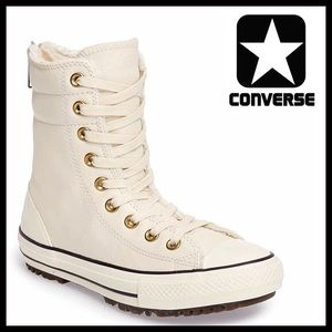 Converse Shoes - CONVERSE COMBAT LEATHER SNEAKERS High Tops