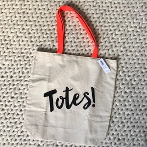 Old Navy Handbags - Graphic Tote Bag