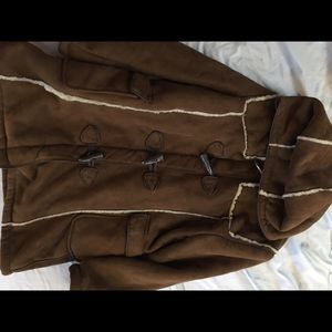 Big Chill Other - Big Chill Brown faux fur Children's coat
