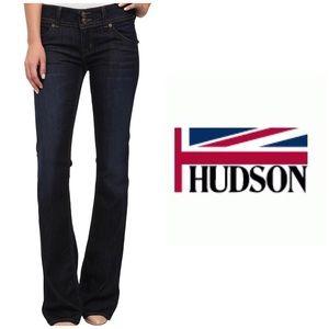 NWOT Hudson signature boot cut jeans