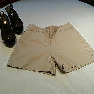 Ann Taylor Pants - Ann Taylor Khaki Shorts