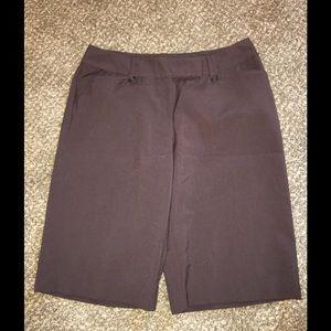 Pants - Long dressy shorts