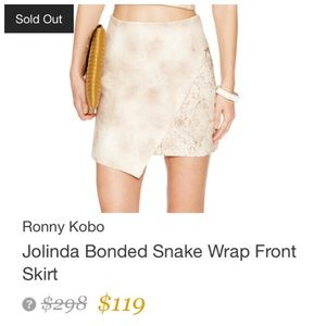 Torn by Ronny Kobo Dresses & Skirts - ⚡️FLASH SALE⚡️ONE HOUR ONLY⚡️REG PRICE $75⚡️