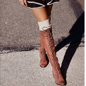 Joe Lace up Boot By Free People/Jeffrey Campbell