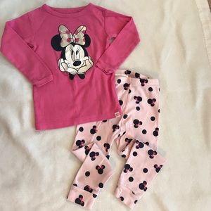 GAP Other - Baby Gap Minnie Mouse Pajamas