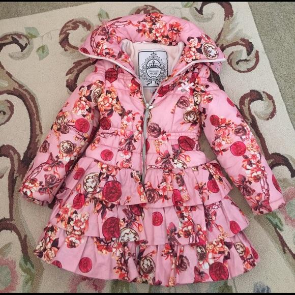 8e81a936077c glamorous le chic Jackets & Coats | Girls Ruffled Puffer Coat | Poshmark
