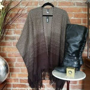 Apt 9 Sweaters - Brown Ombre' Sweater Wrap