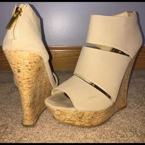 bamboo brand wedge heels