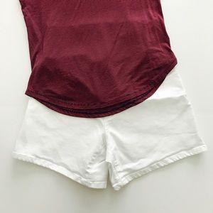 Liz Lange Pants - Liz Lange white denim shorts.