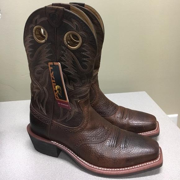 1a37c3366e6 🔥Ariat mens Heritage Roughstock cowboy boots