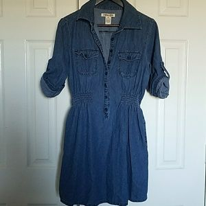 Mascara Dresses & Skirts - MASCARA Denim Dress