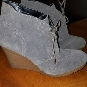 MIA Shoes - MIA suede ankle bootie