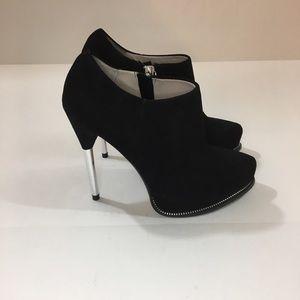 Zara Black Booties