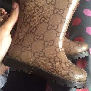 Gucci Other - GUCCI Toddler Rain-Boots
