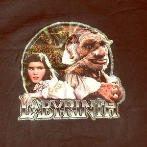labyrinth vintage 90's tee