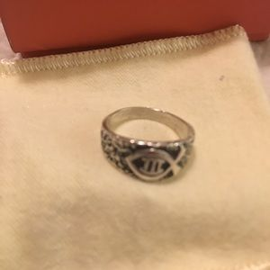 James Avery Jewelry - James Avery retired textured Ichthus Fish band💕