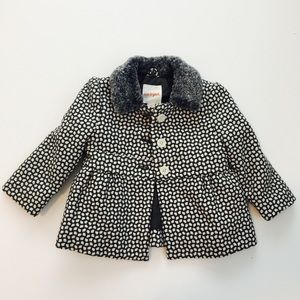 Cat & Jack Other - Patterned Baby Peacoat