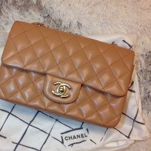 Handbags - Chanel mini lambskin bag
