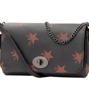 Coach Handbags - Coach Star C Mini Ruby Crossbody - Brown/Multi