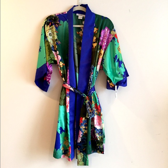 Natori Intimates & Sleepwear | Tahiti Crisp Satin Robenordstorm ...