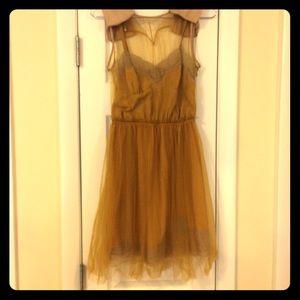 Rodarte Dresses & Skirts - Rodarte mustard dress