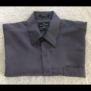 Stacy Adams Other - Stacy Adams Men Dress Shirt, Black & White, Sz XL