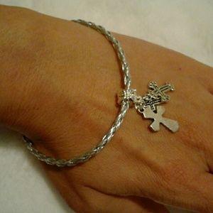 Simple CROSSCharm Bracelet