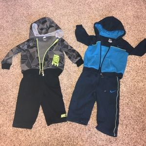 Nike Other - Nike sweat lot infant 12 month boy pants hoodie