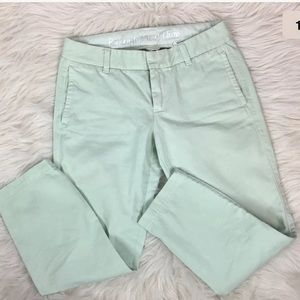 "J. Crew Pants - J. Crew "" broken in scout chino"" cropped pants"