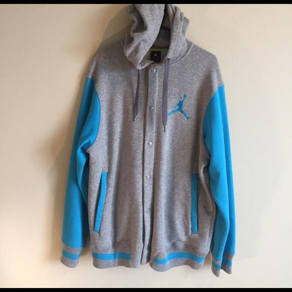 4b6dcbbd963be8 Jordan button up hoodie (XL). M 58dd68dcf0137d8093015709