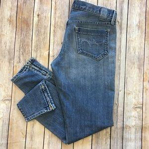 Goldsign Denim - Goldsign Jeans Mystery Skinny Zipper Ankle 28